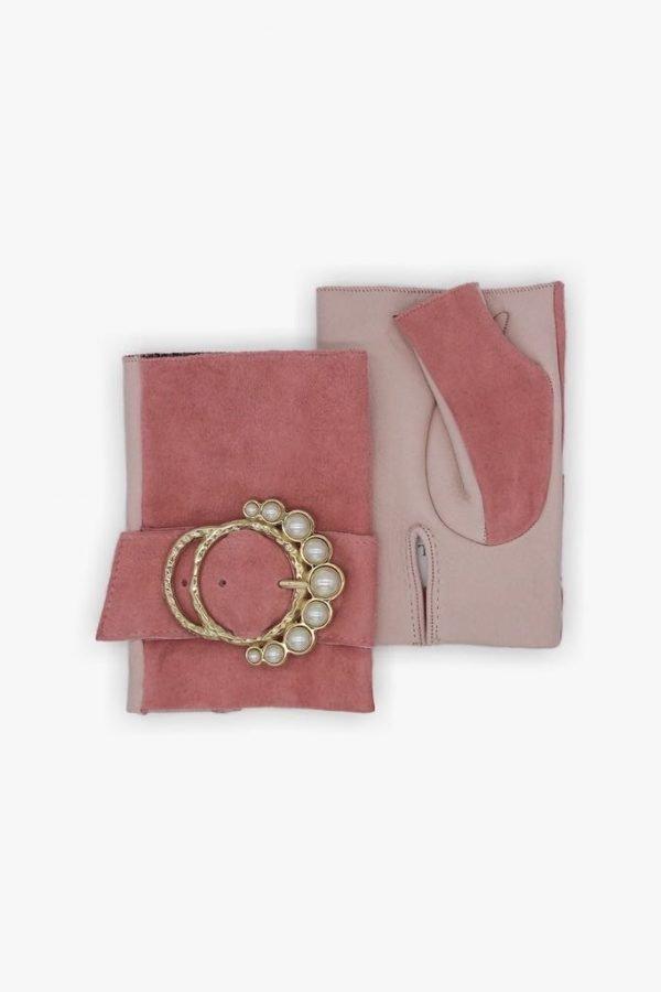 Mitones-perla-rosa-hebilla-perlas-Armèlle-Spain